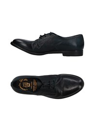 Alexander Hotto Lace Up Shoes Dark Green