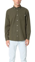 Carhartt Dalton Flannel Shirt Rover Green Laurel