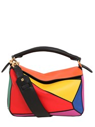 Loewe Small Puzzle Multicolor Leather Bag