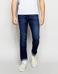 Boss Orange Jeans In Extra Slim Fit Mid Wash Blue