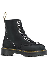 Dr. Martens Front Buckle Studded Boots 60