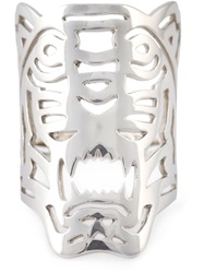 Kenzo Big 'Tiger' Ring Metallic