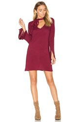 De Lacy Otis Dress Burgundy
