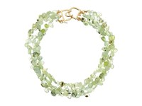 Kenneth Jay Lane 3 Row Jade Bead Necklace Jade Necklace Green