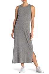 Current Elliott The Perfect Muscle Tee Heart Maxi Dress Amour Hearts He