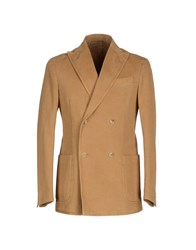 Alain Suits And Jackets Blazers Men Camel