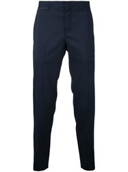 Wooyoungmi Tailored Trousers Blue