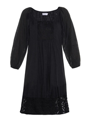 Velvet By Graham And Spencer Jolecia Damask Voile Dress