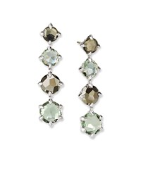 David Yurman Chatelaine Drop Earrings W Topaz Sage