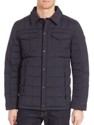 Tumi Quilted Long Sleeve Jacket Black