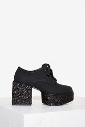 Yru Wednesday Glitter Platform Black