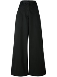 Barena Wide Legged Trousers Black