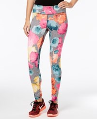 Energie Active Juniors' Printed Leggings Wonder Flower