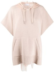Red Valentino Point D'esprit Hood Jumper 60