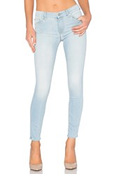 7 For All Mankind The Squiggle Ankle Skinny Daylight Blue
