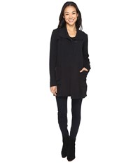 Mod O Doc Soft As Cashmere Knit Cinch Waist Jacket Black Women's Coat