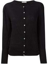 Stefano Mortari Buttoned Cardigan Black