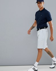 Calvin Klein Golf Tech Shorts With Logo In Grey Ckms14646