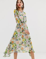 Essentiel Antwerp Floral Maxi Dress Multi