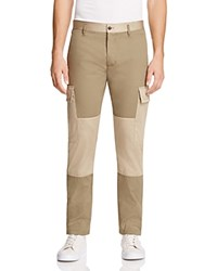 Marc Jacobs Color Block Twill Cargo Pants Army