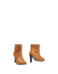 Mysuelly Ankle Boots Tan