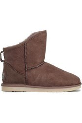Australia Luxe Collective Shearling Ankle Boots Mushroom