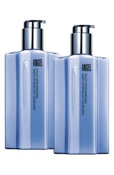 Thierry Mugler Angel By Double Indulgence Body Lotion Duo 110 Value