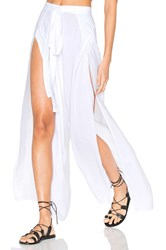 Indah Eclipse Wrap Pants White