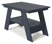 Loll Designs Adirondack Side Table Gray