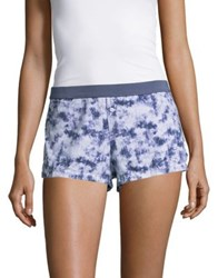 Design Lab Lord And Taylor Abstract Boxer Shorts Abstract Purple