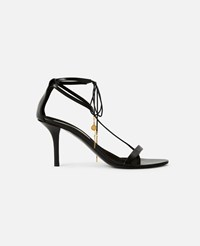 Stella Mccartney Black Black Heeled Sandals