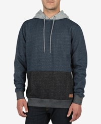 Volcom Men's Threezy Cotton Hoodie Navy