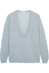 Brunello Cucinelli Knitted Sweater Blue