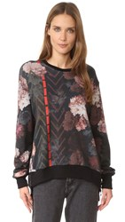 Preen Sena Sweatshirt Painted Flower
