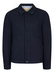 Selected Blue Homme Navy Worker Jacket