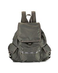 Le Sport Sac Lesportsac Voyager Flap Top Backpack Zinc Grey