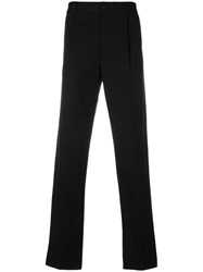 Salvatore Ferragamo Tailored Trousers Men Cotton 46 Black