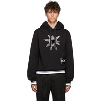 Dolce And Gabbana Black Heart Hoodie