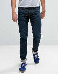 Lee Jeans Arvin Tapered Jeans In Deep Sea Blue
