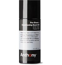 Anthony Logistics For Men Pre Shave Conditioning Beard Oil 59Ml Colorless