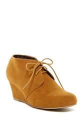 Red Circle Tammy Wedge Bootie
