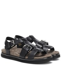 Church's Britney Leather Sandals Black