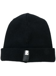 Alyx Logo Patch Beanie Black
