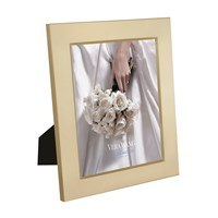 Vera Wang Wedgwood Grosgrain Gold Photo Frame 8X10