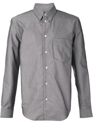 Julien David Pocket Shirt Grey