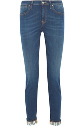 Vivienne Westwood Anglomania Moroe High Rise Skinny Jeans Indigo