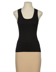 Angelina Sleeveless Sweaters Black