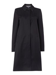 Aquascutum London Dulwich Raincoat Navy