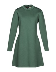 Etre Cecile Short Dresses Military Green