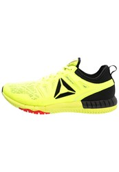 Reebok Zprint 3D Neutral Running Shoes Yellow Black Red